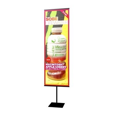 "24"" Everyday Snap Rail Banner Stand"