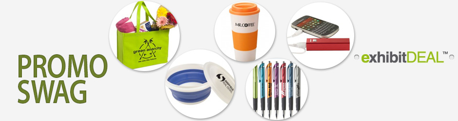 Promotional Giveaway Items for Tradeshows and Events - Let Us Help You Choose the Right Swag